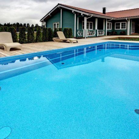 Композитный бассейн Briliant 77 | Цвет Blue Saphire