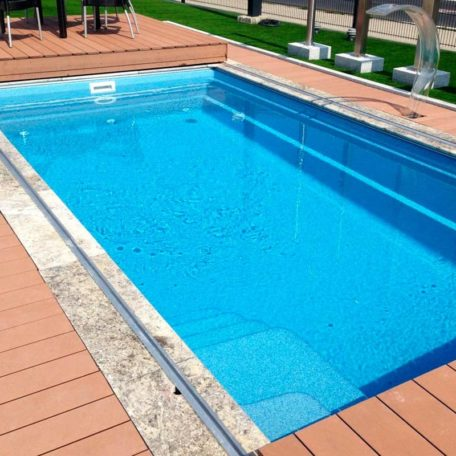 Стекловолоконный бассейн Aqua 110 | Цвет Blue Saphire