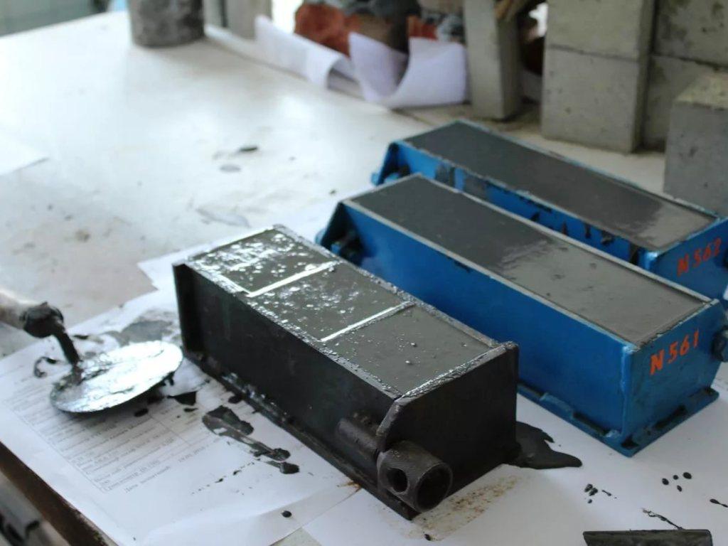 Форма для заливки кубиков для лаборатории