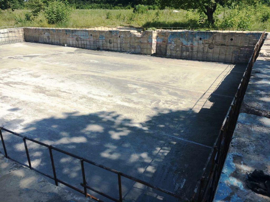 Реконструкция бетонного бассейна