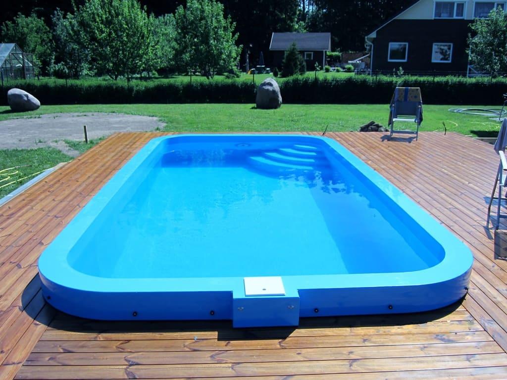 Полипропиленовый бассейн скиммерного типа