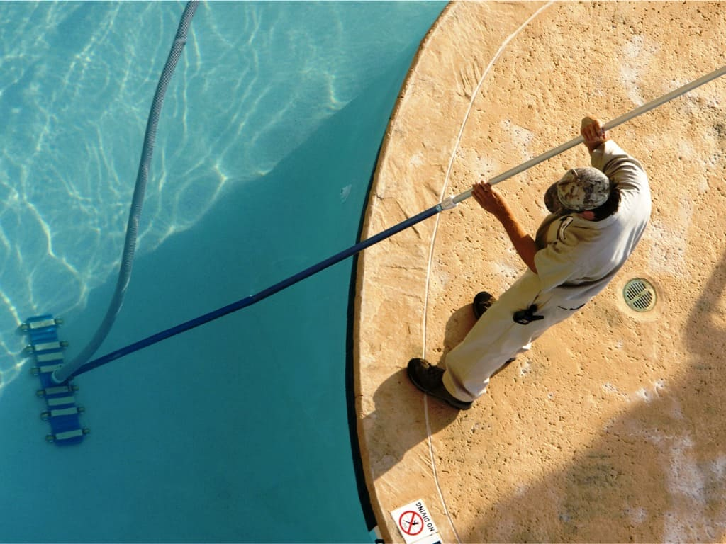 Обслуживание бассейна своими руками