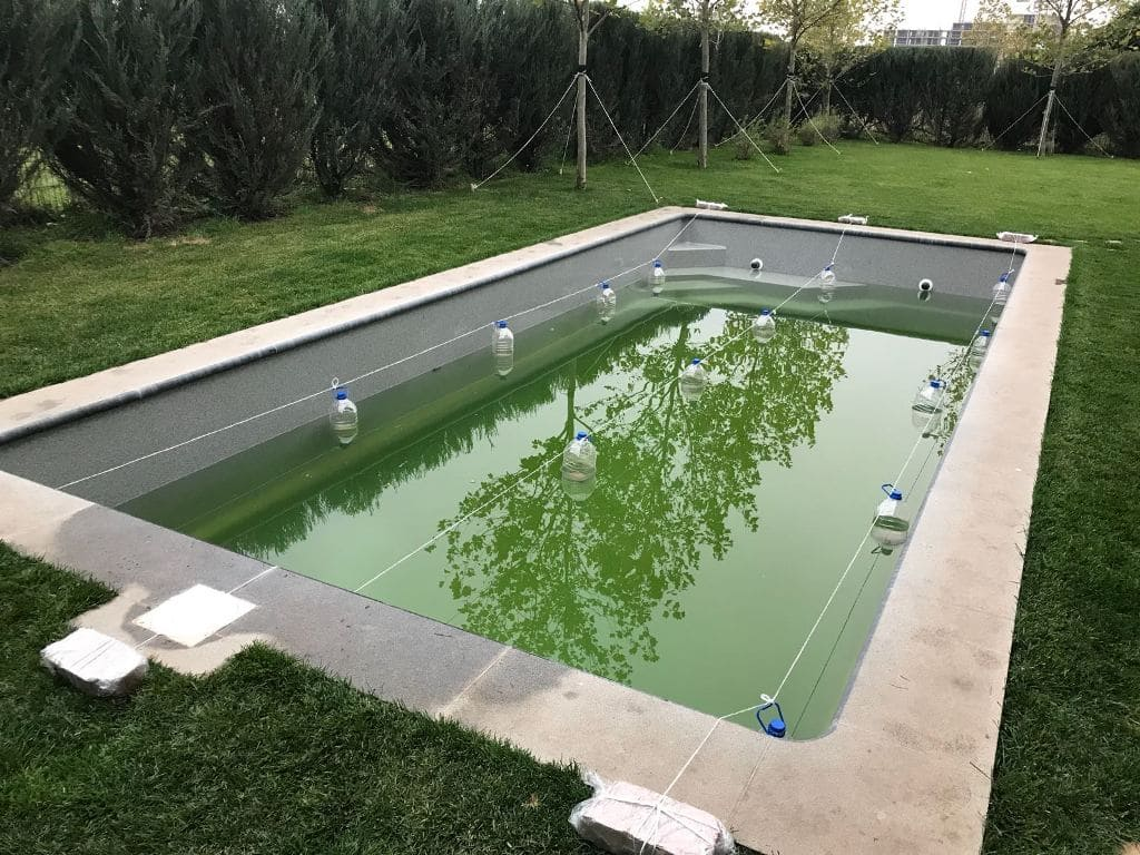 Расположение компенсаторов в бассейне