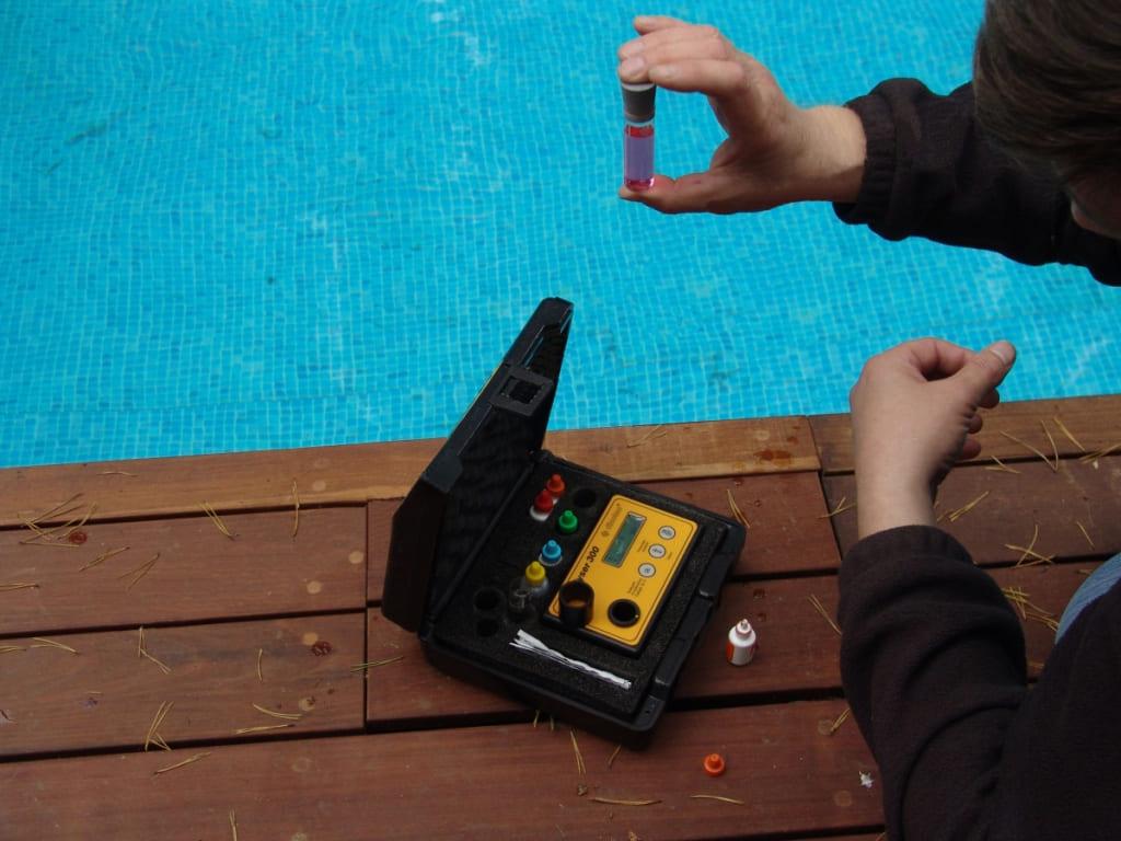 Фотометр для измерения уровня pH
