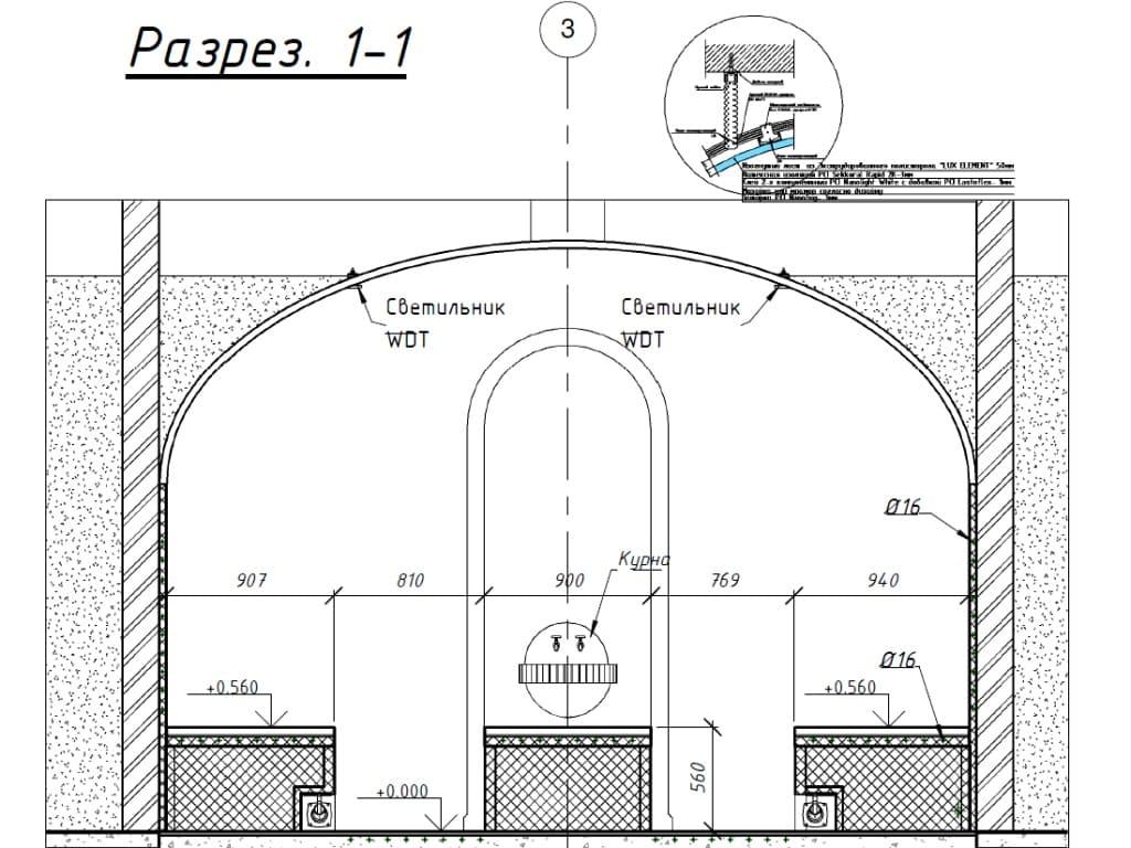 Проектирование хамамов