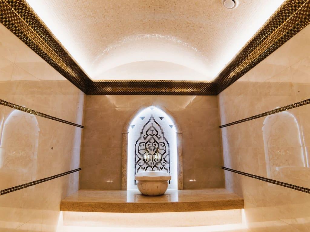 Панно из мозаики для хамама с подсветкой