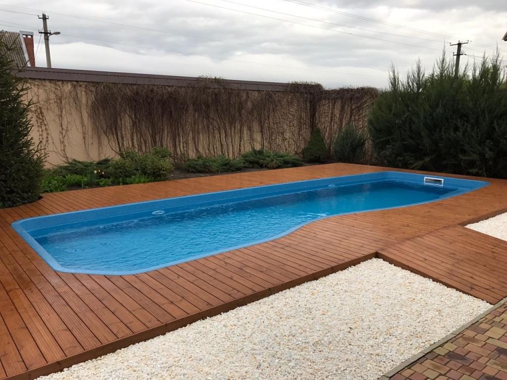 Стеклопластиковый бассейн Compass Pools