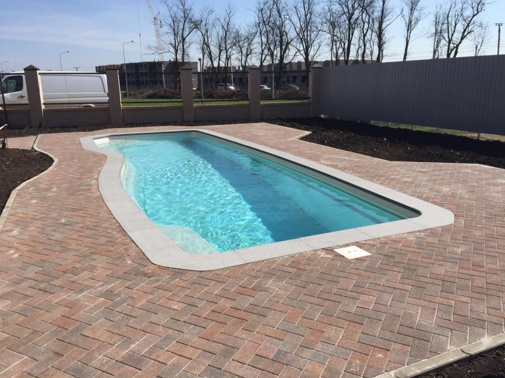 Композитно керамический бассейн Compass Pools