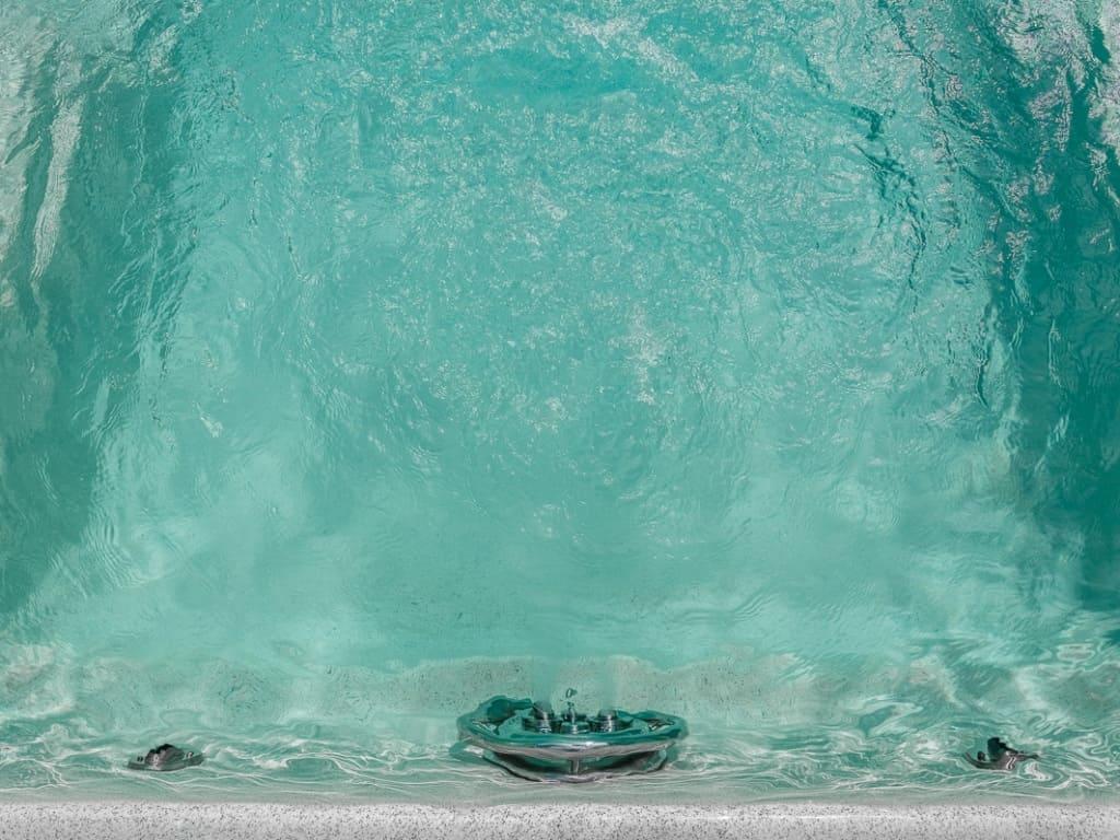 Работа противотока для бассейна