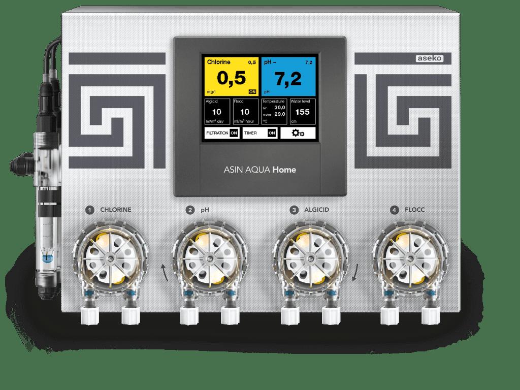 Станция автоматической дозации химии Aseko