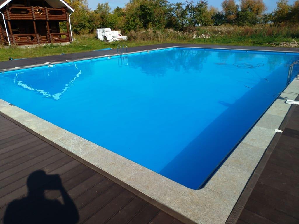 Сделан капитальный ремонт бассейна