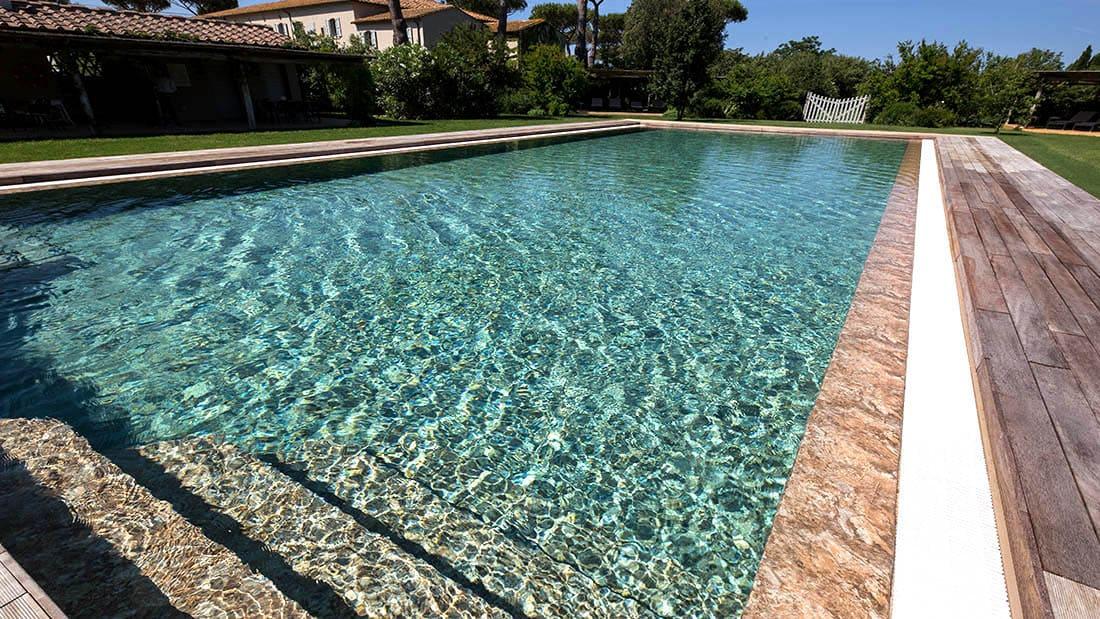 Бетонный бассейн с мембраной Alkorplan Touch Authentic